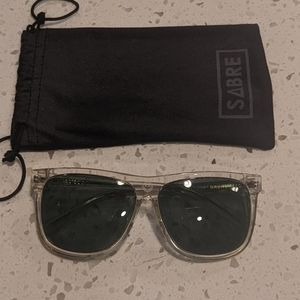 Sabre Clear Sunglasses